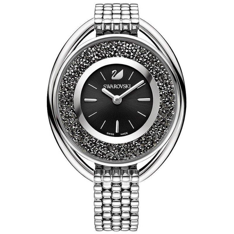 Orologio Swarovski Donna Acciaio Solo Tempo Analogico Bracciale In Acciaio 5181664 Crystalline