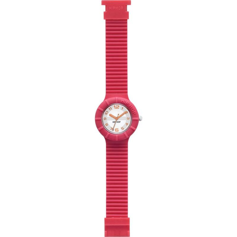 Orologio Hip Hop solo tempo donna cinturino in silicone HWU0167 Numbers