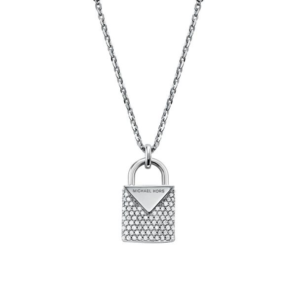 Collana Michael Kors MKC1040AN040 Argento 925 collezione Padlock
