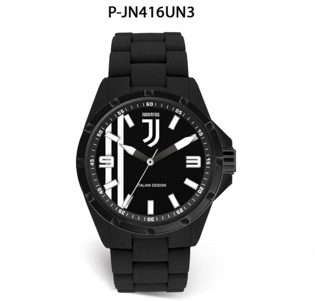 Orologio solo tempo Lowell Juventus Official P-JA415XN3 analogico Deluxe