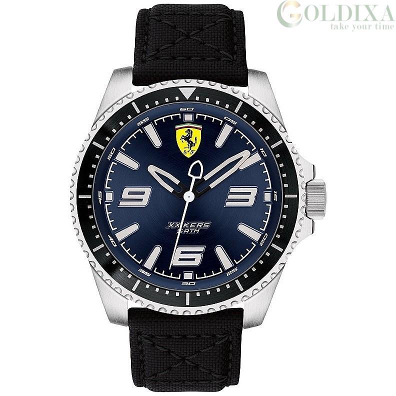 Watches Watch Scuderia Ferrari Solo Tempo Man Analog Cordura Strap Collection Xx Kers Fer0830486