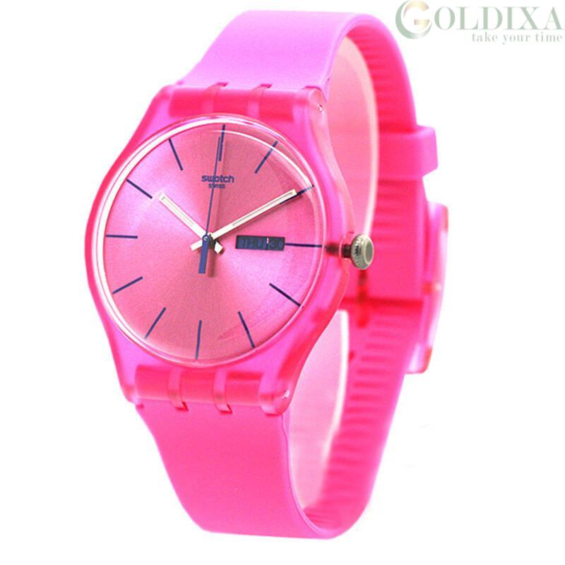 Watches Swatch Watch Only Time Woman Analog Model Suop700