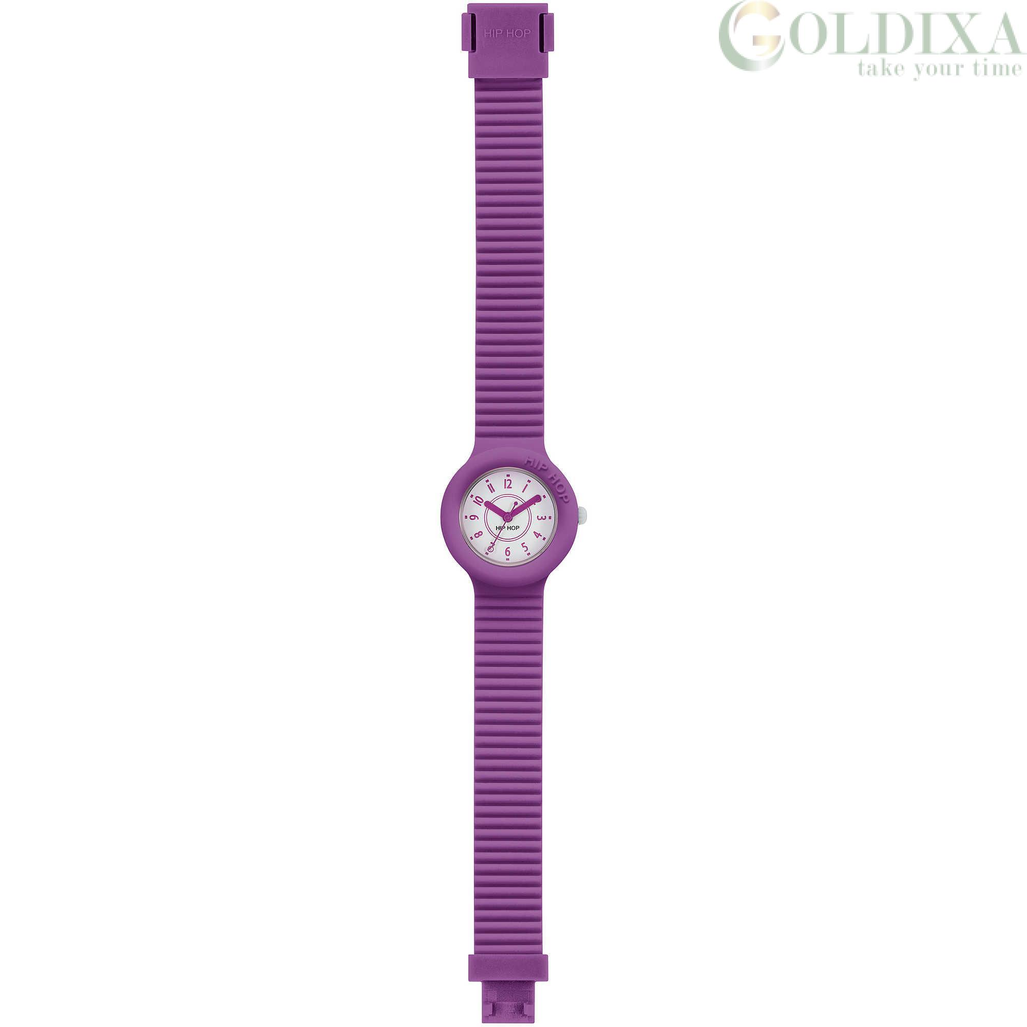 nuovo stile d06c2 a1f03 Watches: Hip Hop watch only time woman silicone strap HWU0630 Numbers