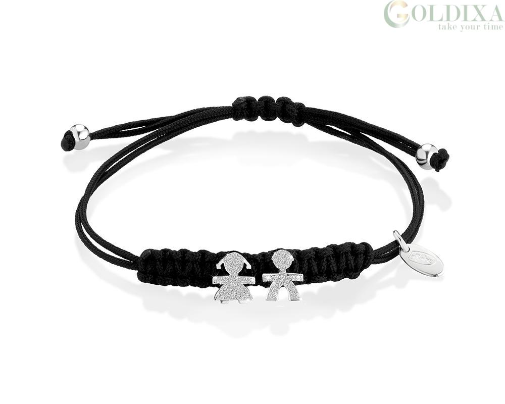 super popolare 2ef31 fb70a Jewelry: Le Bebè Bracelet LBB307 18Kt White Gold Le Briciole ...