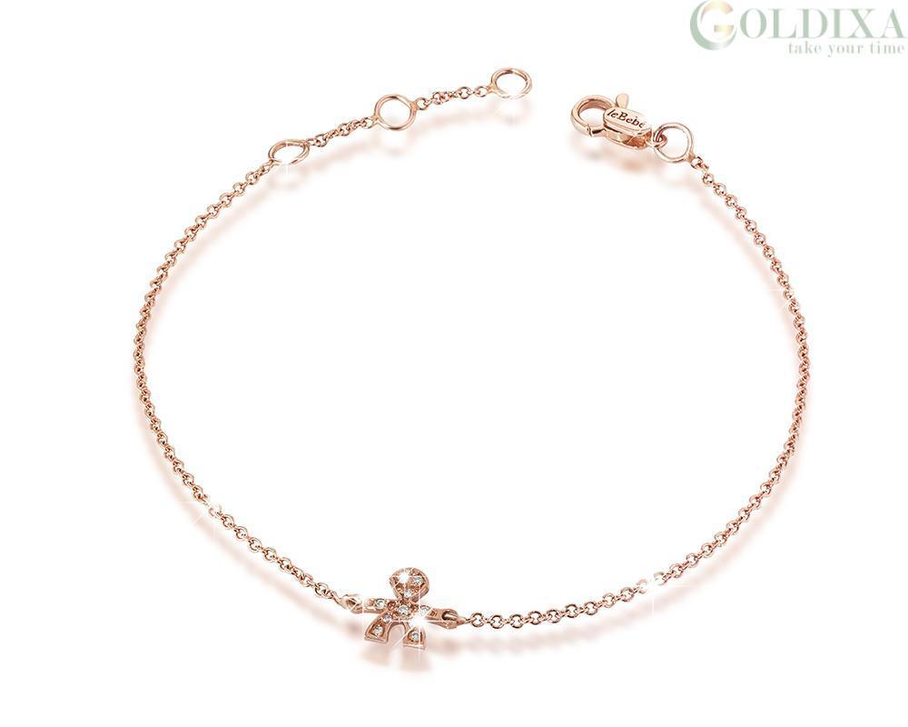 Nuovi Prodotti 1d3fb 4d8cb Jewelry: Le Bebè LBB327 Rose Gold Bracelet